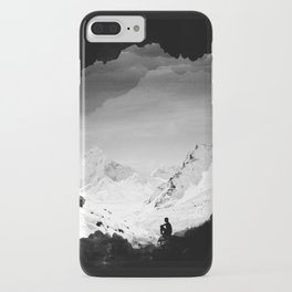 Snowy Isolation iPhone Case