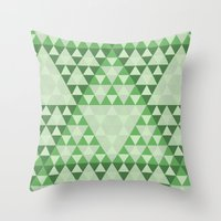 courage Throw Pillows featuring Courage by Gavin Guidry