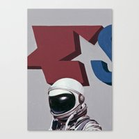 star Canvas Prints featuring Star by Scott Listfield