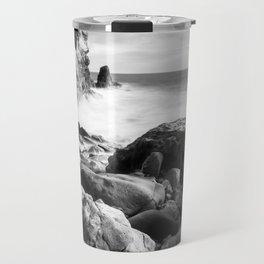 Corona del Mar beach in Southern California Travel Mug