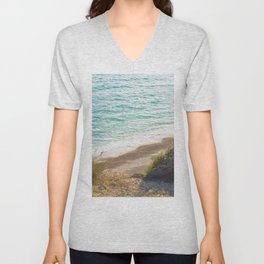Southbourne Beach, Bournemouth. Unisex V-Neck
