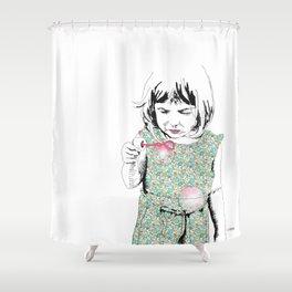 BubbleGirl Shower Curtain