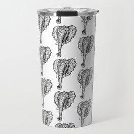 Elephant Mosaic Travel Mug