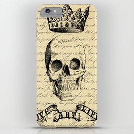 Royal Skull iPhone Case