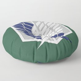 Attack on Titan: Wings Of Freedom Logo Floor Pillow