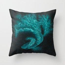 Cosmic Betta No. 2 Throw Pillow