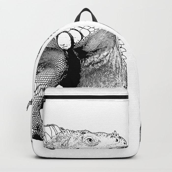 Iguanas (animals) Backpack