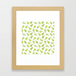 A Peck of Pears Framed Art Print