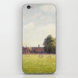 Camille Pissarro Hampton Court Green iPhone Skin