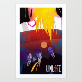 UNLIFE: QUITTING TIME Art Print