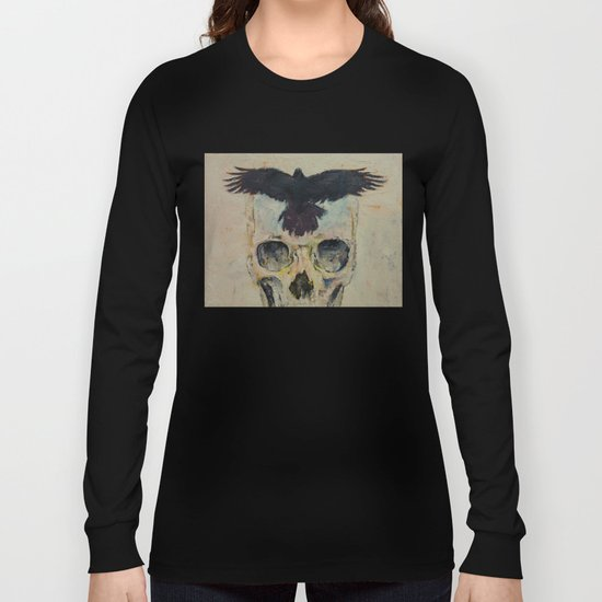 Black Crow Long Sleeve T-shirt