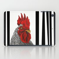 cock iPad Cases featuring cock by bmkoc