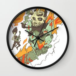 Paladin Sorcerer! Wall Clock