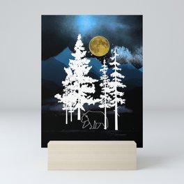 Full Moon Rising II Mini Art Print