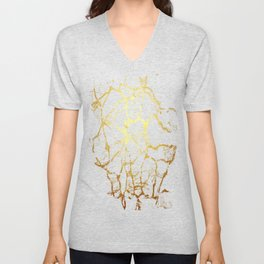 KINTSUGI  ::  Recognise Beauty Unisex V-Neck