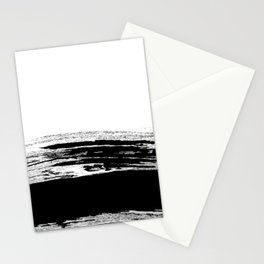 abstract b&w Stationery Cards