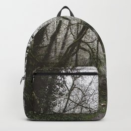 Frosty Forest Path Backpack