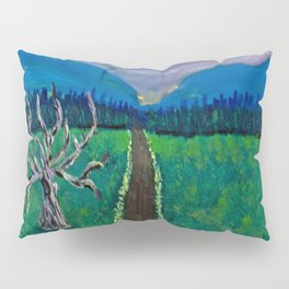 Mountain Drive Pillow Sham