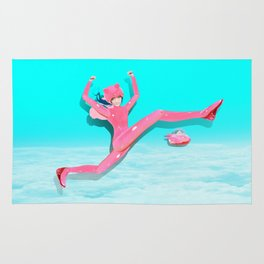 Pink Catwoman Rug