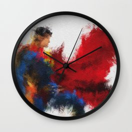 The Last Son of Krypton Wall Clock