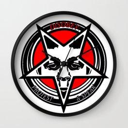 Disobey original logo 1 Wall Clock