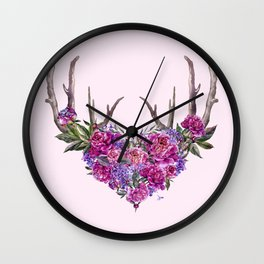 My Bohemian LOVE Memories Wall Clock