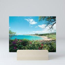 Kāʻanapali Beach Maui Hawaii Mini Art Print