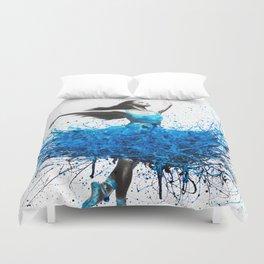 Ocean Ballet Duvet Cover