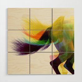 Crazy Horse Wood Wall Art