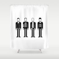 coldplay Shower Curtains featuring Coldplay by Band Land