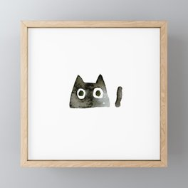 I Love Cats No.13 by Kathy Morton Stanion Framed Mini Art Print