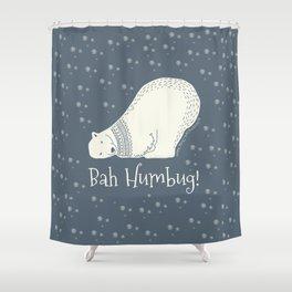 Bah humbug! - Ebenezer Scrooge Shower Curtain