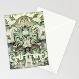 Abstract graphic mirror 6 Stationery Cards