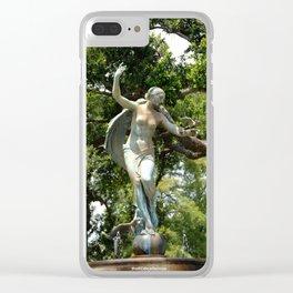Flight of Fancy Clear iPhone Case