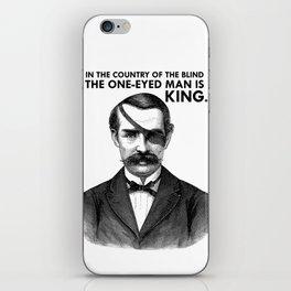 ONE-EYED KING  iPhone Skin