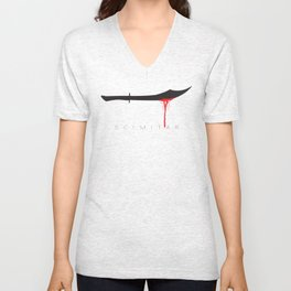 Scimitar Unisex V-Neck