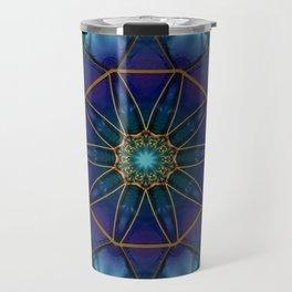 Moonstone Mandala Travel Mug