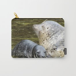 Harbor Seal Sweetness Carry-All Pouch