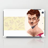 lydia martin iPad Cases featuring Martin by gravityjump