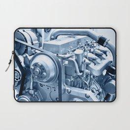 Turbo Diesel Engine Laptop Sleeve