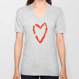 What Becomes of the Broken Hearted? Unisex V-Neck