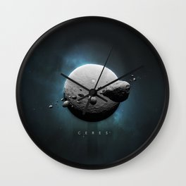 A Portrait of the Solar System: Ceres Wall Clock