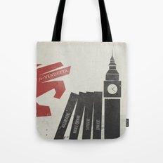 V Vendetta, Alternative Movie Poster, graphic novel by Alan Moore Tote Bag