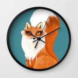 Beautiful Vixen Wall Clock