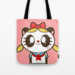 Tokupan Girl (Tokusatsu Panda) Before Henshin Tote Bag