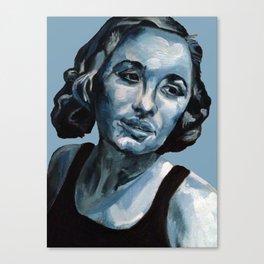 Selfie Girl Canvas Print