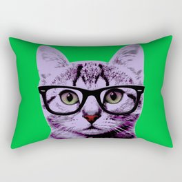 Warhol Cat 3 Rectangular Pillow