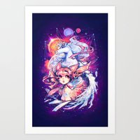 barachan Art Prints featuring rhapsody by barachan