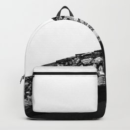 Black and white minimalistic design Backpack