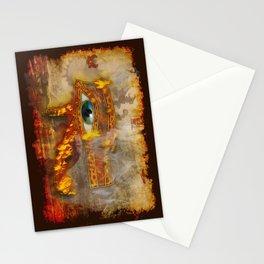 Desert Fire - Eye of Horus Stationery Cards